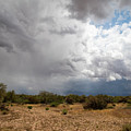 A Stormy Desert Sky by Cathy Franklin