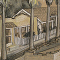 A Street In California by Beverly Trivane