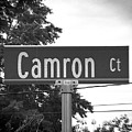 Ca - A Street Sign Named Camron by Jenifer West