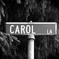 Ca - A Street Sign Named Carol by Jenifer West