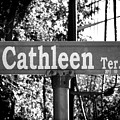 Ca - A Street Sign Named Cathleen by Jenifer West