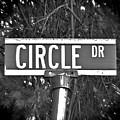 Ci - A Street Sign Named Circle by Jenifer West