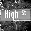Hi - A Street Sign Named High by Jenifer West