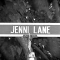 Je - A Street Sign Named Jenni by Jenifer West