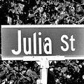 Ju - A Street Sign Named Julia by Jenifer West