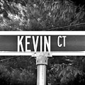 Ke - A Street Sign Named Kevin by Jenifer West