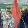 A Strike At Saint Ouen by Paul Louis Delance