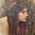 A Study for a Naiad by John William Waterhouse
