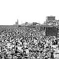 A Summer Day At Coney Island by Underwood Archives