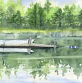 A Summer Pond by Melly Terpening
