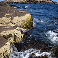 A Summer's Day At Nubble Light, York, Maine  -67969 by John Bald