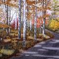 A Sunny Autumn Day by Conrad Mieschke
