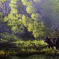A Sunny Meadow by Valentin Katrandzhiev