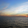 A Sunset On The Last Day At Sea by Harvey Barrison