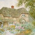 A Surrey Cottage by Arthur Claude Strachan