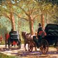 A Surrey Ride In Central Park by David Olander