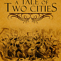 A Tale Of Two Cities Book Cover Movie Poster Art 1 by Nishanth Gopinathan