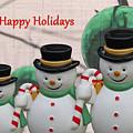 A Three Snowman Holiday by Nina Silver