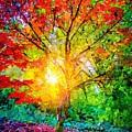 A Tree In Glory by Stefan Duncan