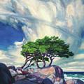A Tree On The Seashore Reef by Zhan Jianjun