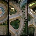 A Triptych Of Old Gears by Tikvah's Hope