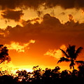 A Tropical Sunset by Christiane Schulze Art And Photography