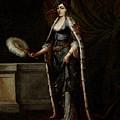 A Turkish Lady by Jean Baptiste van Mour