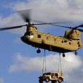 A U.s. Army Ch-47 Chinook Helicopter by Stocktrek Images