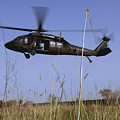 A U.s. Army Uh-60 Black Hawk Helicopter by Stocktrek Images