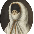 A Veiled Lady by Continental School