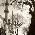 A View From Blue Mosque by Malik Avunduk