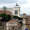 A View From Palatine Hill In Rome Italy by Mindy Newman