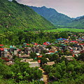 A View From Step 1,153 In Mai Chau, Vietnam, Southeast Asia by Sam Antonio Photography
