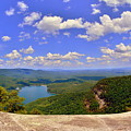 A View From Table Rock South Carolina by Lisa Wooten