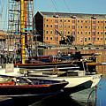 A View From The Docks by Peter Hunt