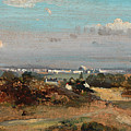 A View In Suffolk by Frederick W Watts