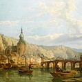 A View Of Dinant by George Clarkson Stanfield