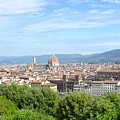 A View Of Florence by Laura Mayo