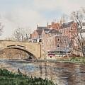 A View Of Framwelgate Bridge by George Levitt