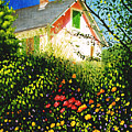 A View Of Monets House In Giverny France by Gary  Hernandez