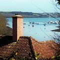 A View Of Mylor Harbour by Terri Waters