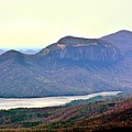 A View Of Table Rock South Carolina by Lisa Wooten