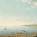 A View Of The Bay Of Naples Looking Southwest From The Pizzofalcone Toward Capo Di Posilippo by Giovanni Battista Lusieri