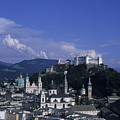 A View Of The City Of Salzburg From An by Taylor S. Kennedy
