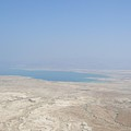A View Of The Dead Sea From Masada by Susan Heller