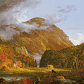 A View Of The Mountain Pass Called The Notch Of The White Mountains by Thomas Cole