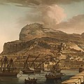 A View Of The Rock Of Gibraltar From The Spanish Lines 1782 by Mountain Dreams