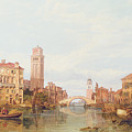A View Of Verona by George Clarkson Stanfield