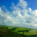 A View Over Exmoor by Joan-Violet Stretch