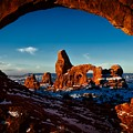 A View Through The Arch by Jacob Frank